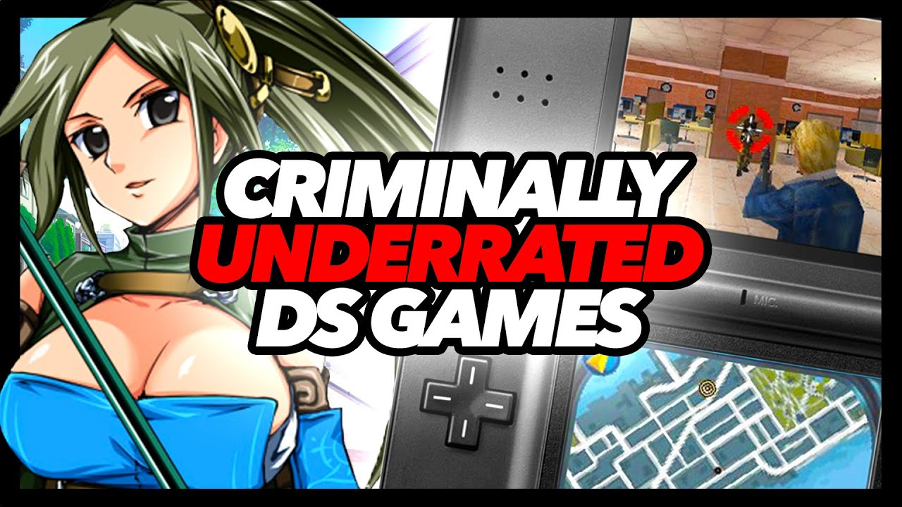 Criminally Underrated DS Games