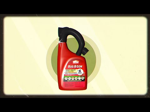 How To Get Rid Of Insects Using Ortho Bug B Gon Insect Killer For Lawns Gardens Youtube