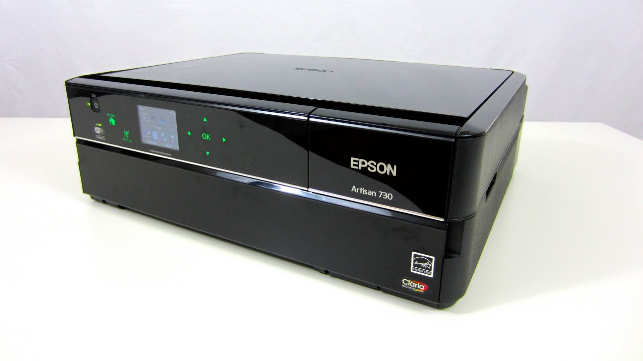 Epson Artisan 730 Inkjet Printer - (set up & demo) ✅