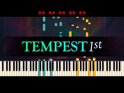 Piano Sonata No 17, Tempest 1st mvt  BEETHOVEN