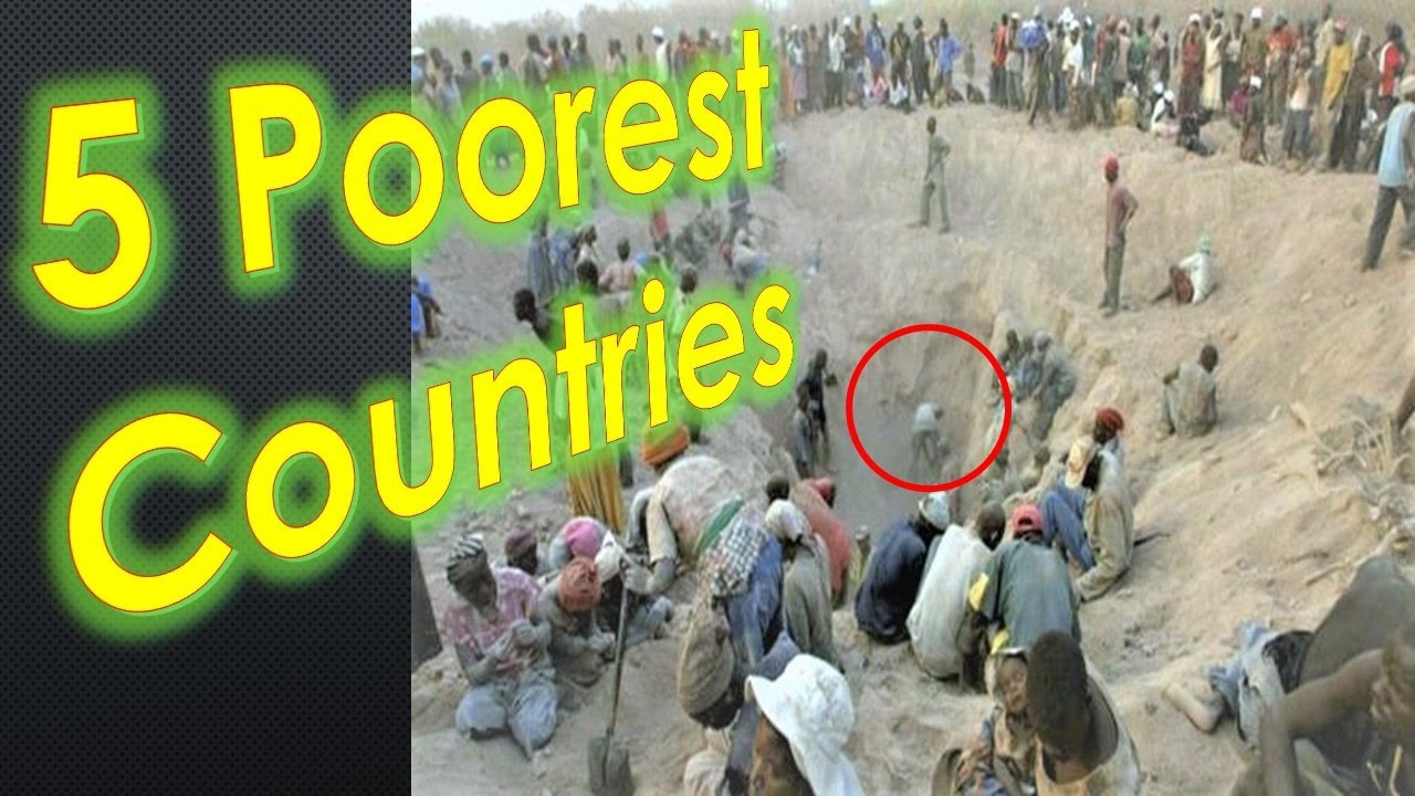 The Poorest Countries In The World Most Poorest Countries In The - Five poorest countries