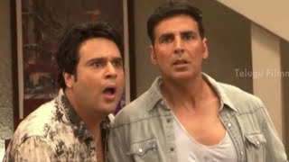 Entertainment movie Akshay Kumar On Sets - Tamanna Bhatia, Prakash Raj, Johnny Lever