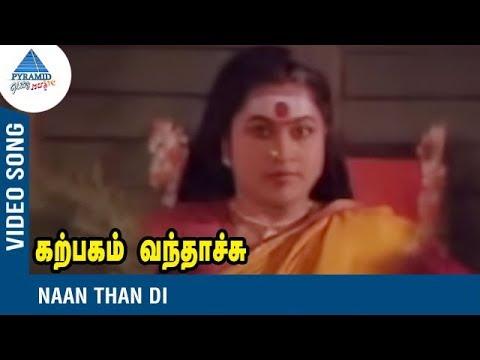 Karpagam Vanthachu Tamil Movie Song   Naan Than Di   Radhika   Swarnalatha   Pyramid Glitz Music