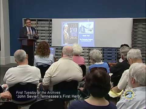 First Tuesday at the Archives: John Sevier