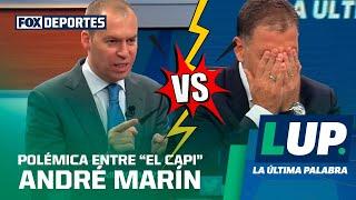 """La polémica entre """"El Capi"""" y André Marín no se hace esperar con la pregunta encuesta"""