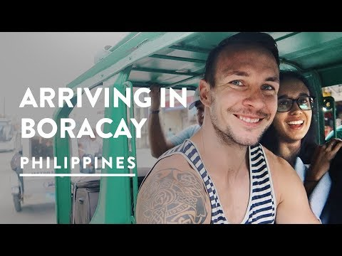 GETTING TO BORACAY - AIRPORT & FERRY MISSIONS | Philippines Travel Vlog 092, 2017