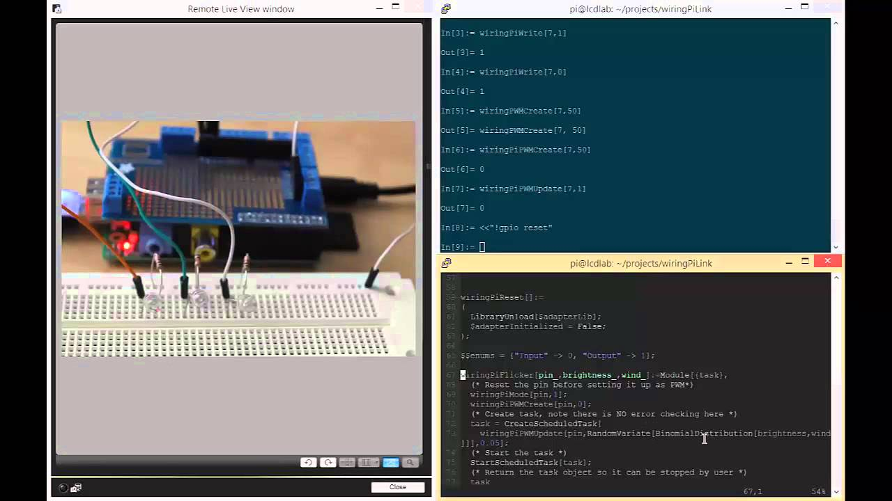Pwm With Wolfram Mathematica On The Raspberry Pi Youtube Wiringpi Functions
