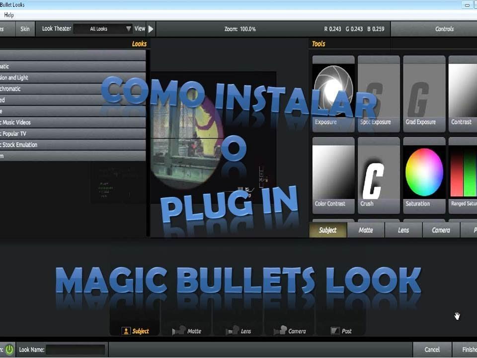como instalar magic bullet looks no photoshop cs6