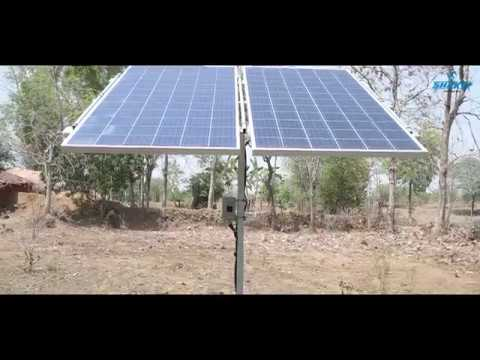 Success Story Of Shakti Solar Surface Dc Pump 0 5 Hp Youtube