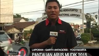 Live Report Dari Yogyakarta: Pantauan Arus Mudik 2015 - iNews Petang 09/07