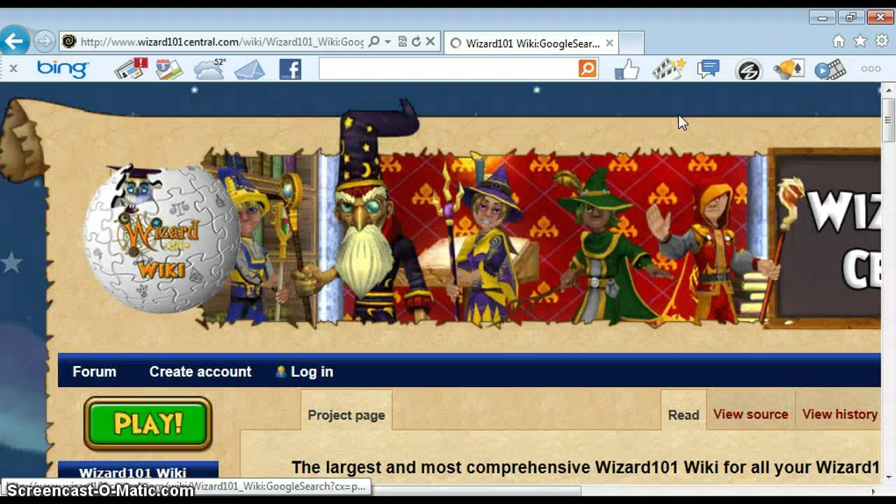 Using The Wizard101 Central Wiki & Other News!