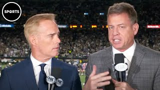 Troy Aikman And Joe Buck CAUGHT On Hot Mic Mocking Military Flyovers