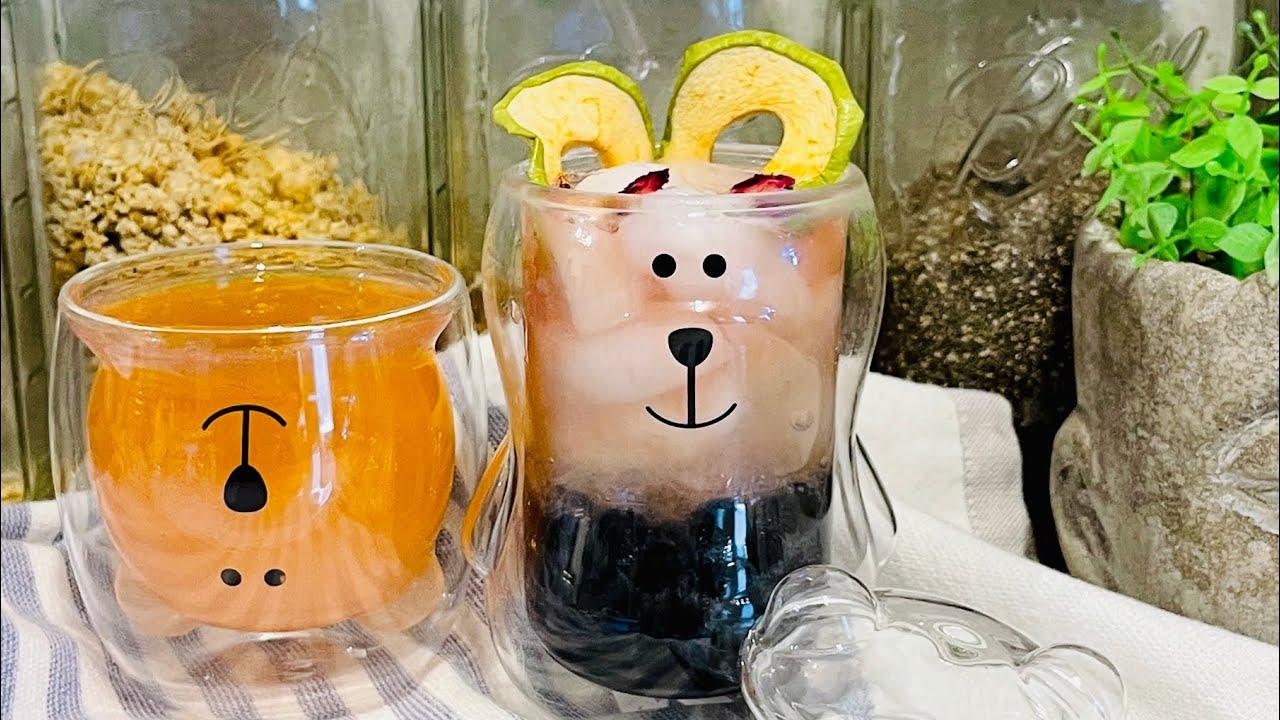 Easy Homemade Boba Bears!  (Popular Korean Drinks w/ Tapioca and Korean Konjac Jelly)