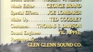 The Guns of Will Sonnett Closing (1967)/ KingWorld Productions *Red Tint* (1984)