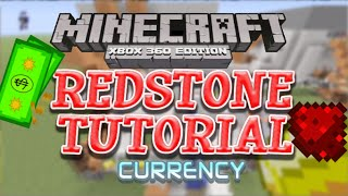 Minecraft Xbox 360 - Redstone Tutorial- Currency System | Make Money For Your Mini-Games