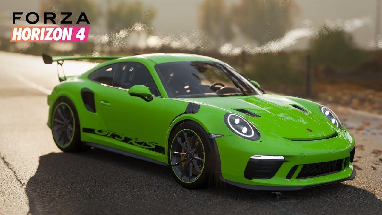 Forza Horizon 4 - Porsche 911 GT3 RS 2019 | Gameplay - YouTube