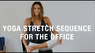 Yoga for the Office: You can do this Sequence from Your Chair!