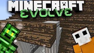 SCHEISS DACH! - Minecraft Evolve Ep.166 feat. SibstLP