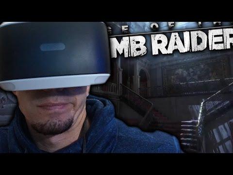 VISITO LA MANSION DE LARA CROFT | TOMB RAIDER VR