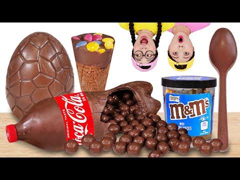 Mukbang Maltesers Chocolate Ice Cream 몰티져스 초콜릿 먹방 DONA 도나