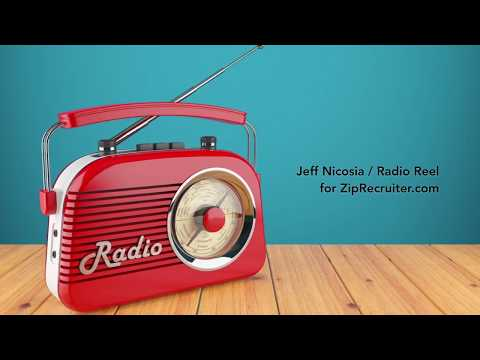 Jeff Nicosia - Radio Reel