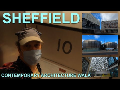 I rode the tallest paternoster lift in Europe - exploring Sheffield's contemporary architecture