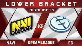NaVi vs EG Elimination DreamLeague 8 Major 2017 Highlights Dota 2