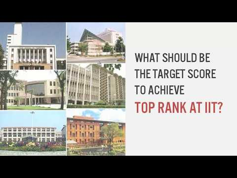 How much score is required to get a Top Rank at IIT(in Hindi)