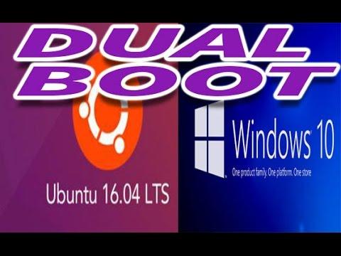 How to Dual Boot Windows 10 and Ubuntu 16.04 - using usb