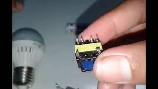 Download Video Cara membuat inverter 1.5v to 220v dari trafo bekas charger hp (simple) MP3 3GP MP4