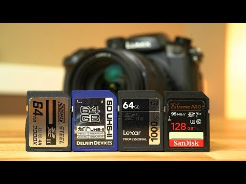 Best SD Cards for 4K Video! - Save your $$$  🔴 Max Talks Live #5