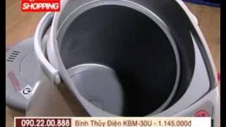TVShopping Bình thủy điện Korea King KBM 30U