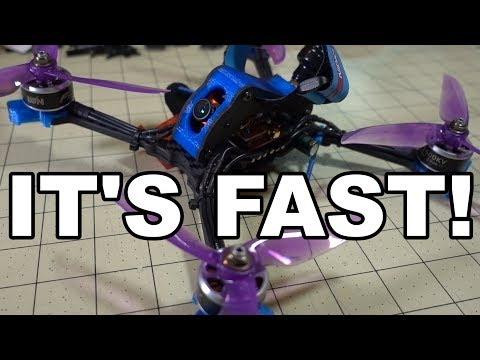 Nidici KUN-H5 5.5-inch Quad Build & Flight ⚡
