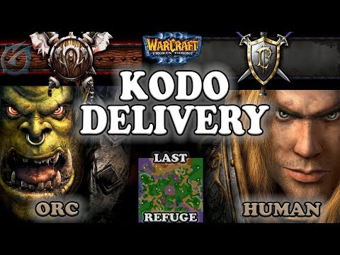 Grubby | Warcraft 3 The Frozen Throne | 1.26 | ORC v HU - Kodo Delivery - Last Refuge