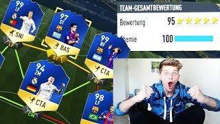 100% UNMÖGLICHE 195 TOTS RATED FUT DRAFT CHALLENGE!! ⚽⛔️😝 - FIFA 17 ULTIMATE TEAM (DEUTSCH)