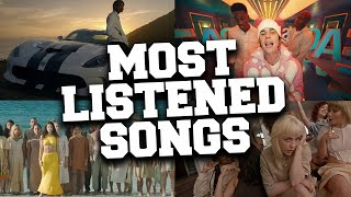 Top 100 Most Listened Songs in June 2021 (Mainstream Music)