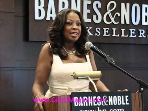 Star Jones @  Book Signing