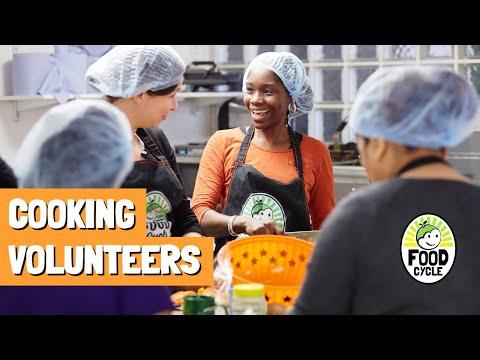 Be a cooking volunteer