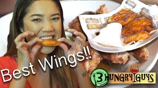 3 Hungry Guys | Best Wings in the Raleigh, NC Triangle