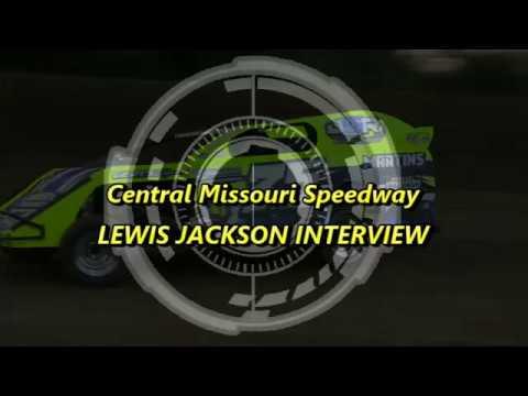 """CENTRAL MISSOURI SPEEDWAY """"LEWIS JACKSON"""" INTERVIEW"""