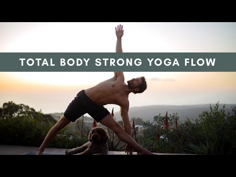 Day 11 Total Body Yoga Workout Challenge Strong and Sweaty Flow | Yoga With Tim