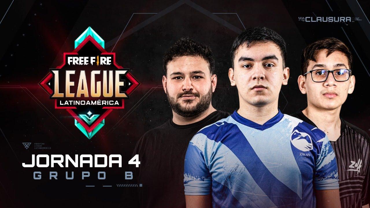 Free Fire League 2020 - Clausura   Grupo B   Jornada 4