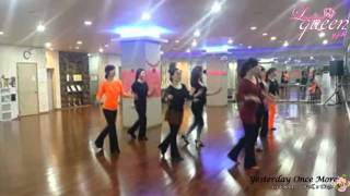 Yesterday Once More Line Dance