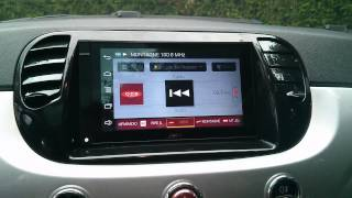 Parrot Asteroid Smart mediaplayer UI Tuner modified (RADIO FM like DAB)
