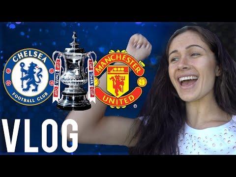 Manchester United 0-1 Chelsea | Sophie Rose Vlog From Wembley Stadium