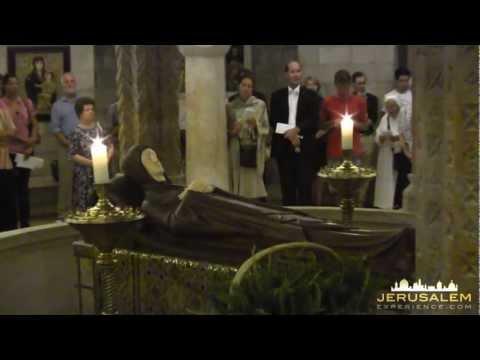 Assumption of Mary - Jerusalem 2012