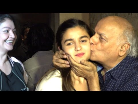 Mahesh Bhatt's CUTE Moment With Alia Bhatt