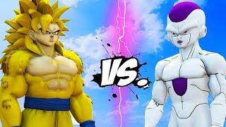 GOKU VS FRIEZA - DRAGON BALL BATTLE