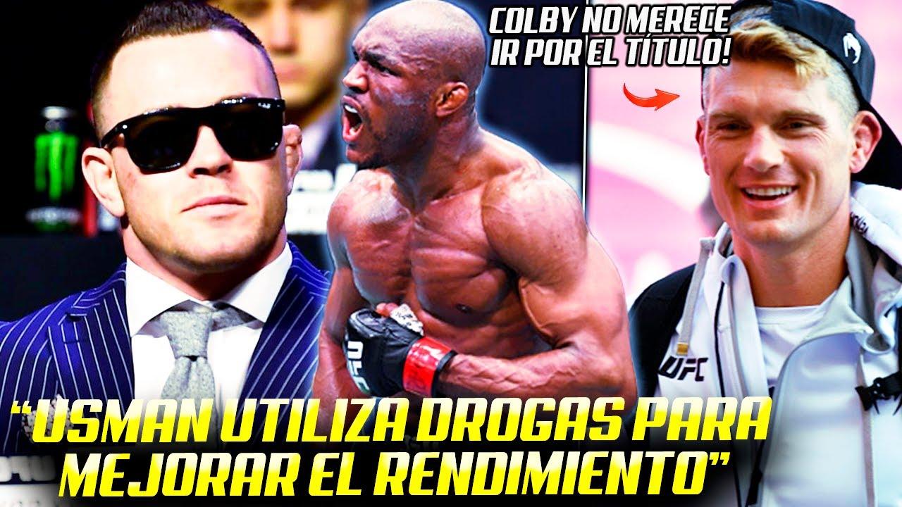 "Colby Covington: ""Kamaru Usman UTILIZA EPO"" | Dariush DEBERÍA ser SUPLENTE de Oliveira vs Poirier"