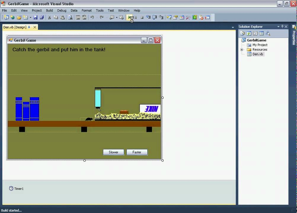 Visual Basic 2008 Express Simple Game
